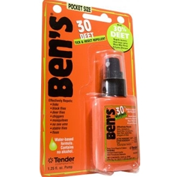 Ben's 30 Deet Tick & Insect Repellent Spray 1.25 oz