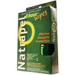 Natrapel Insect Repellent  8 Hour 12 PC Wipes 0006-6095