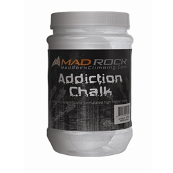Mad Rock Climbing Addiction Chalk Sock