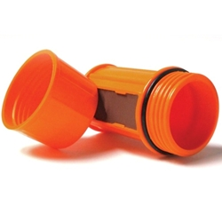 UCO Waterproof Match Case (Orange EMPTY)