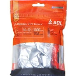 Survive Outdoors Longer All Weather Fire Cubes