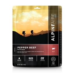 AlpineAire Foods Pepper Beef W/ Rice - 2 Servings