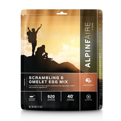 AlpineAire Foods Scrambling and Omelet Egg Mix - 2 Servings