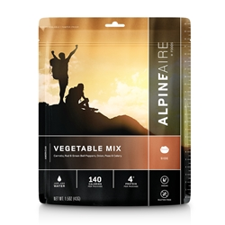 AlpineAire Foods Vegetable Mix - 2 Servings