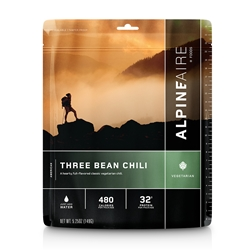 AlpineAire Foods Three Bean Chili - 2 Servings