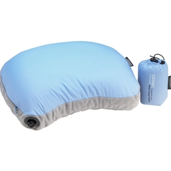 Cocoon Ultralight Air Core Hood Camp Pillow Light Blue Grey
