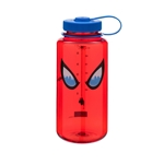 Red Bottle With Spider-Man Eyes And Blue Cap