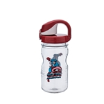 Clear Bottle With Captain America And Red Cap