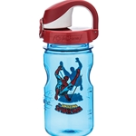Blue Bottle With Spider-Man And Fire Cap