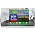 RESTOP 1 Disposable Travel Toilet 4 pack (Qty. 4)