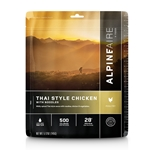 AlpineAire Foods Thai Style Chicken with Noodles - 2 Servings
