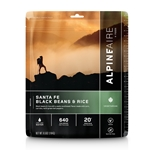 AlpineAire Foods Santa Fe Black Beans and Rice - 2 Servings