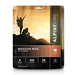 AlpineAire Foods Mexican Rice with Cheese - 2 Servings