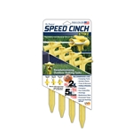 Speed Cinch Tent Stake Yellow (Pack of 4)